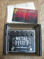 Продам педаль EHX Metal Muff with Top Boost