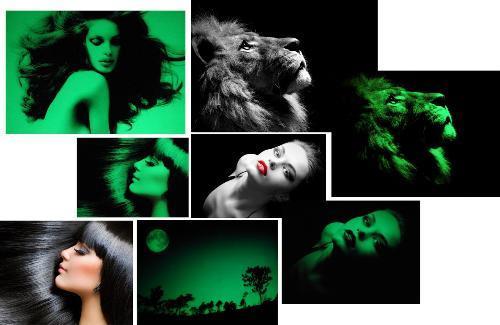 Светящиеся фото в темноте как сделать