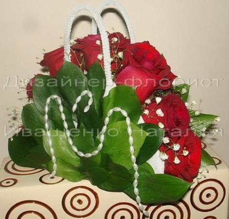 Сумочки для цветов своими руками
