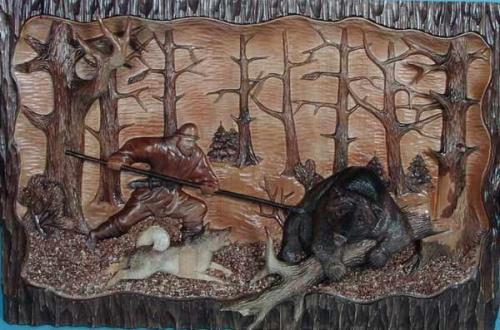 Поделки на тему охота