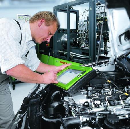 Диагностика двигателя  оборудование